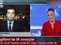 NTV Spikerinin Canlı Yayında Anlamsız Gülüşü