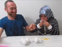 Çorumlu Youtuber Yumurta Kapışması