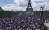 Griezmann'ın Golü Sonrası Paris'te Fransızların Sevinci