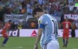 Messi'ye Milli Takım'ı Bıraktıran Penaltı