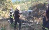 Yangın Helikopterinin Yanlışlıkla Gazetecileri Islatması