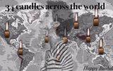 Tuba Büyüküstün İçin 34 Ülkeden Aynı Klipte 34 Mum Üflenmesi