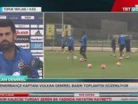 Profesyonel Düşünemem, Doğuştan Fenerbahçe'liyim - Volkan Demirel