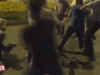Gazetecilere Tekme Tokat Saldıran Alkollü Sürücü