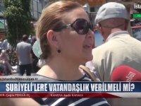 Suriyeli'lere Vatandaşlık Verilmeli mi ? - İstanbul Times Tv