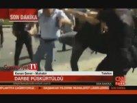 CNN Türk Muhabirine Saldırı Anı