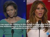 Donald Trump'ın Eşinin Michelle Obama'nın Konuşmasını Çalması