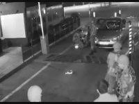 Türksat'a Yönelik Saldırının Güvenlik Kameralarına Yansıması