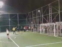 Popescu Penaltısı Temalı Halı Saha Final Galibiyeti