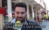 Hunharca Gülen Adam  Sokak Röportajı