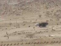 Suudi Arabistan'da Çekilen Ufo Görüntüleri