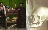 Tablonun İçine Gizlenen 16. Yüzyıldan Kalma Kuru Kafa İllüzyonu