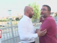 Beyaz TV Muhabirinin Atalay Demirci'nin Yüzüne Tükürmesi