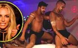 Britney Spears'tan Gecenin Bir Yarısı Jimmy Kimmel'a Yarı Çıplak Adamlarla Şaka