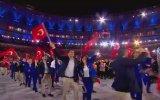 Rio Olimpiyatları Açılış Seremonisi  Türkiye'nin Geçişi
