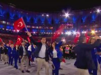 Rio Olimpiyatları Açılış Seremonisi - Türkiye'nin Geçişi