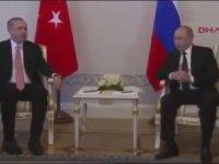 Erdoğan Putin Görüşmesine Yapılan Komik Montaj