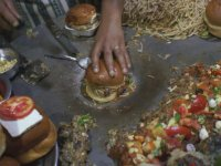 Hindistan Usulü Vejeteryan Burger