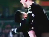 Azeri Televizyonunda Beşiktaş - Galatasaray Süper Kupa Finali tanıtımı