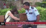 Ölümün Kıyısındaki Kızı Kurtaran Polis  Antalya