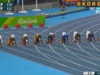 Usain Bolt'un 100 Metre'de Yine Altın Madalya Alması
