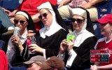 Elinde Bira İle Yakalanan Çılgın Rahibe