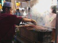 Çin Usulü Kuzu Şiş Kebab