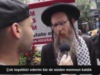 New York'ta Yahudiler Tarafından Düzenlenen Anti-Siyonist Eylem