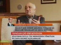 Süleyman Soylu'nun Cemaati Övmesi