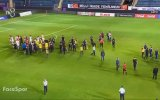 Türkiye U21 & Kıbrıs Rum Kesimi Takımlarının Tekme Tokat Kavgası