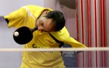 Kolsuz Masa Tenisi Oyuncusundan Etkileyici Performans