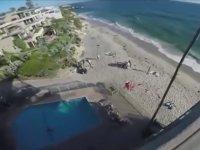 Metrelerce Yüksekten Havuza Atlamak
