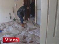 Erzurum Toki Konutlarında Evlerin İçinin Buz Tutması