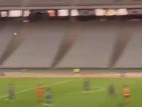 Eskişehirspor Kalecisinin 70 Metreden Gol Atması