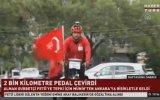 Fetö'yü Protesto İçin 2 Bin 686 Kilometre Yol Yapan Adam