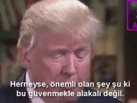 Trump'ın Ortadoğu Üzerine Mantıklı Görüşleri