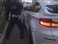 Rus Polisi BMW X6 ile İmtihanı