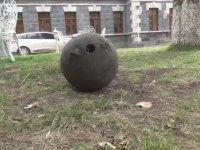1. Dünya Savaşı'ndan Kalma Top Güllesi