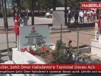 Şehit Ömer Halisdemir'e Dava Açılması