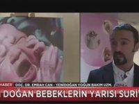 İstanbul'da Doğan Her 2 Bebekten 1'inin Suriyeli Olması
