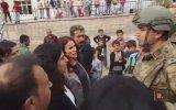 Sabahat Tuncel ile Askerler Arasında Yaşanan Gerginlik