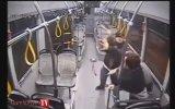 Halk Otobüsü Şoförünü Demir Çubukla Öldüresiye Dövmek