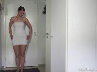 Tek Parça Kumaştan Değişik Elbiseler Üretmek