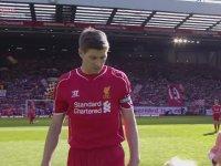 Steven Gerrard'ın Liverpool'a Vedası