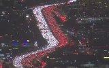 Los Angeles'da Şükran Günü Trafiği