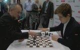 Magnus Carslen vs. Espen Agdestein  Blitz Maçı
