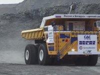 Rusların 450 Ton Taşıyabilen Maden Kamyonu