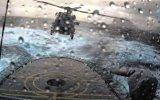 Fırtınada Gemi Üzerine Helikopter İnişi