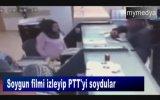 Soygun Filminden Etkilenip PTT Soymak  Adana