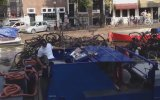 Hollanda'da Kanal Temizliği